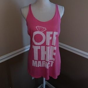 Tops - Off the market bachelorette tank